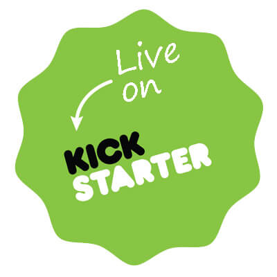 Product invention ideas live on kickstarter