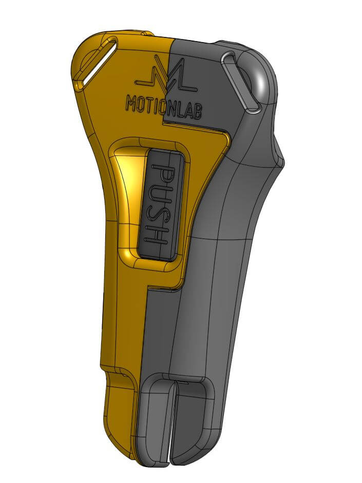 cad design of motionlab buckle