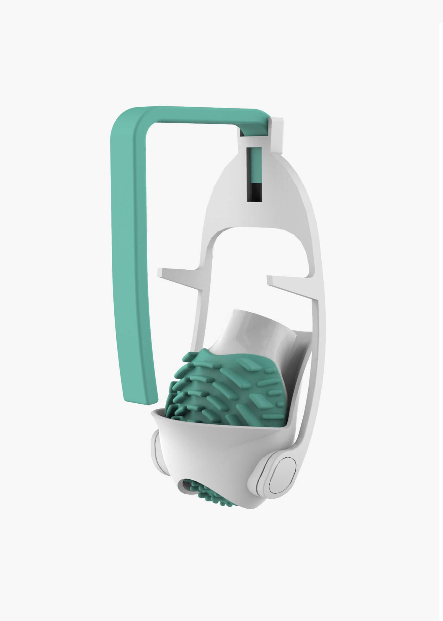 Flushbrush product design holder