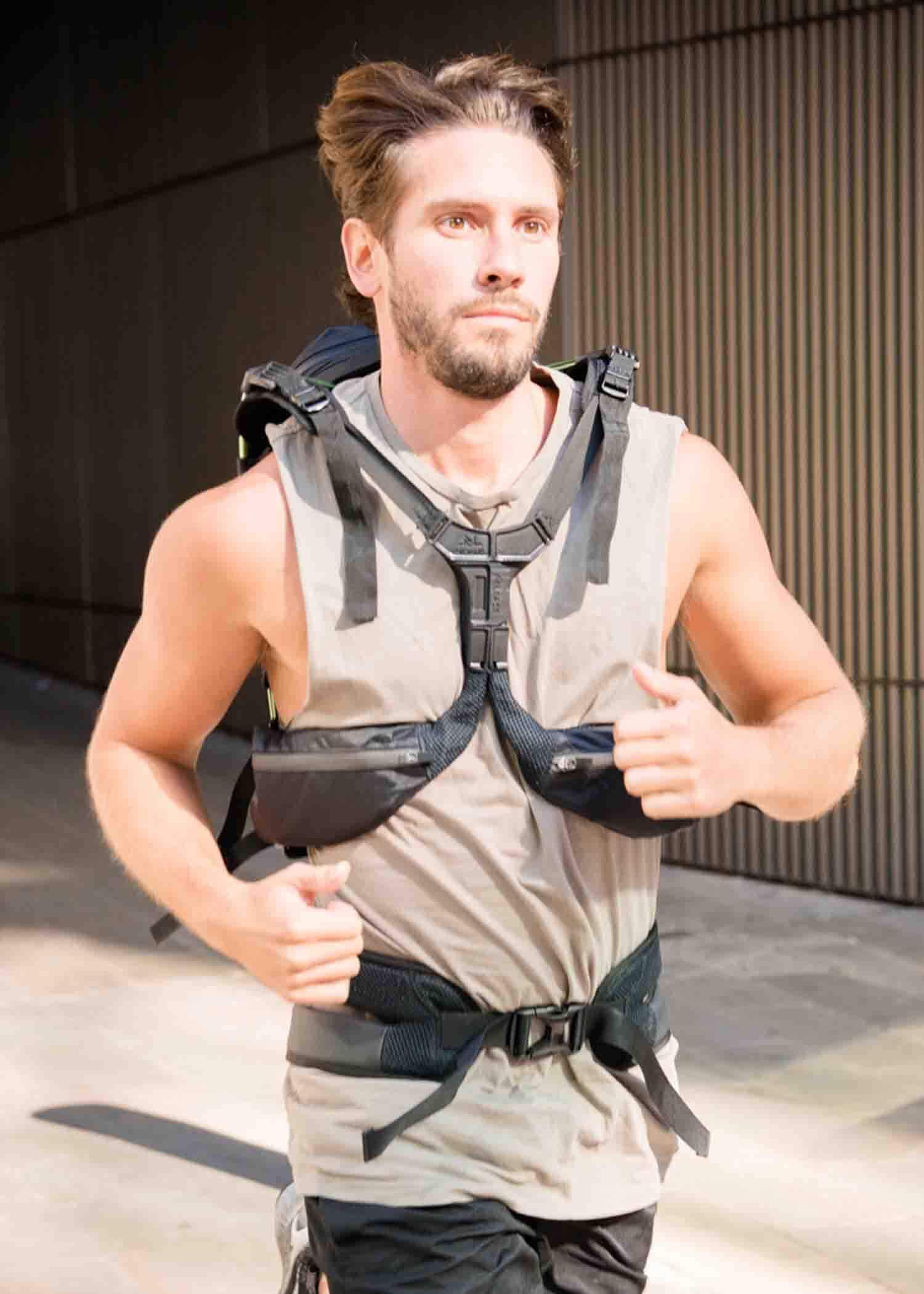 Motionlab active commute bag running rucksack