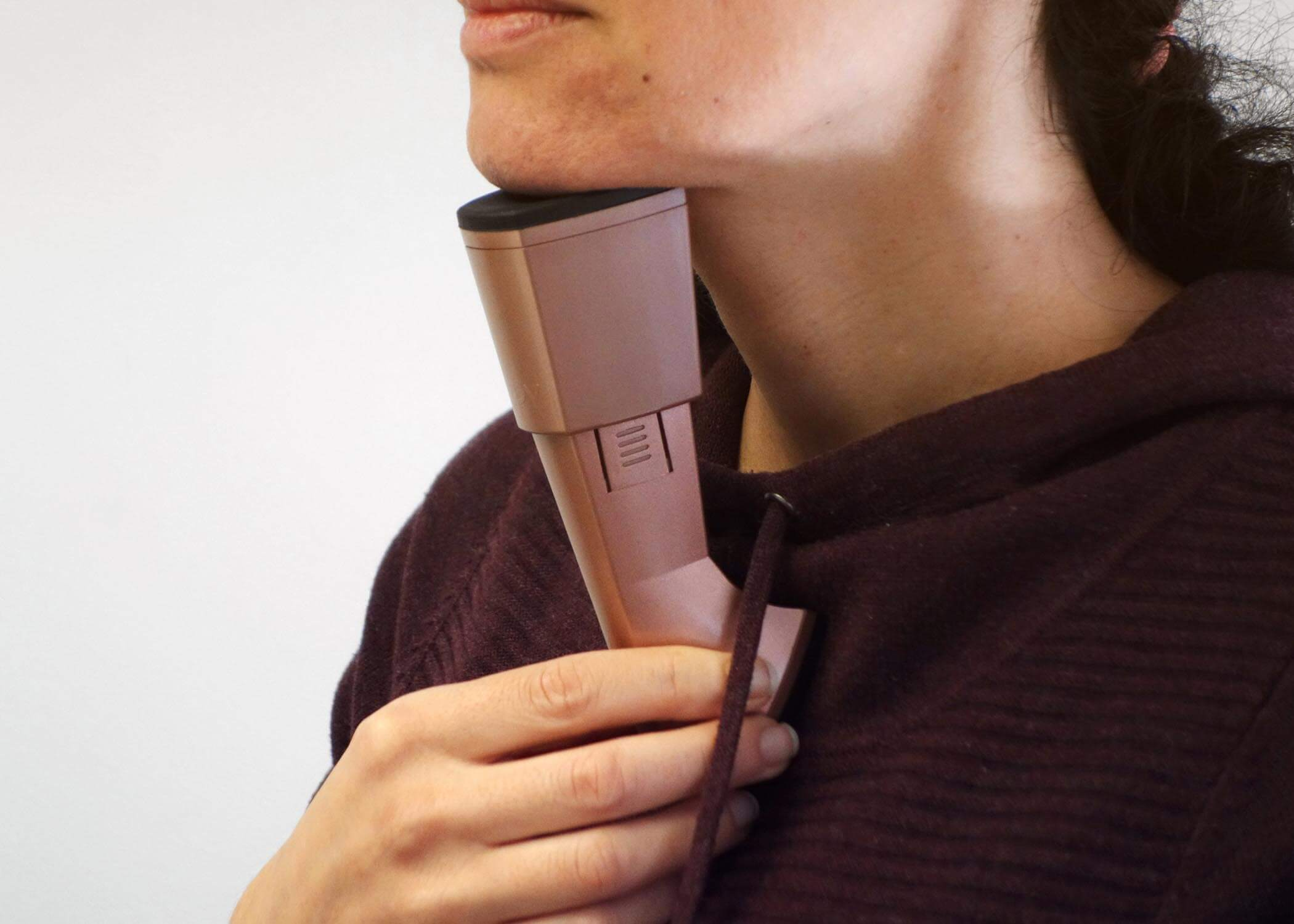 neckline trainer health and beauty product design