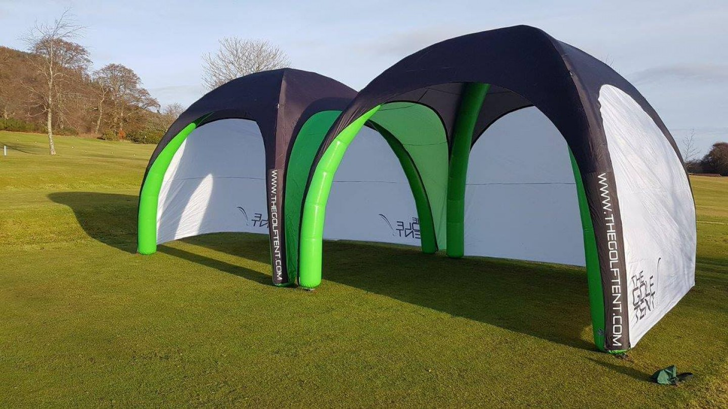 The Golf Tent Idea Reality