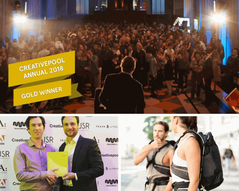 Idea Reality Award Winning Product Design Creative Pool Awards